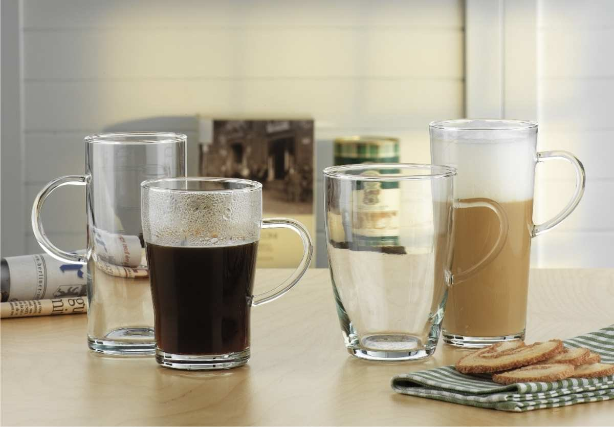 Simas Tea Glasses and Coffee Mugs