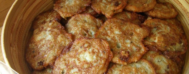 How to make latkes for Hanukka
