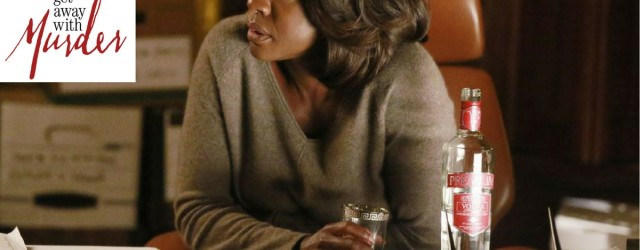 Viola Davis Drinking Vodka